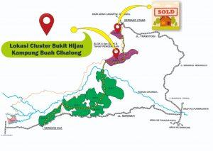 lokasi cluster bukit hijau di blok b kampung buah cikalong