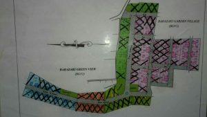 site plan barazaki residence depok