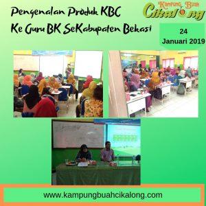 presentasi kampung buah cikalong ke guru BK di wilayah kabupaten bekasi