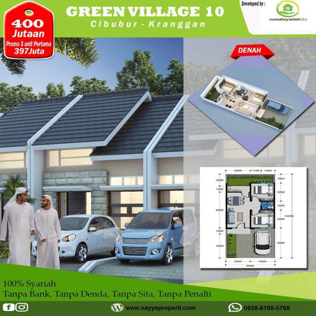 hunian syariah di cibubur green village 10