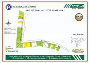 update cluster bukit hijau skema cash, angsur 5 dan 10 bulan