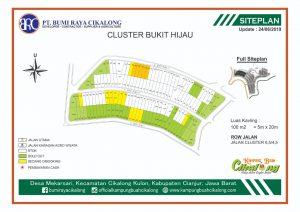 update stok kavling cluster bukit hijau tahap 11