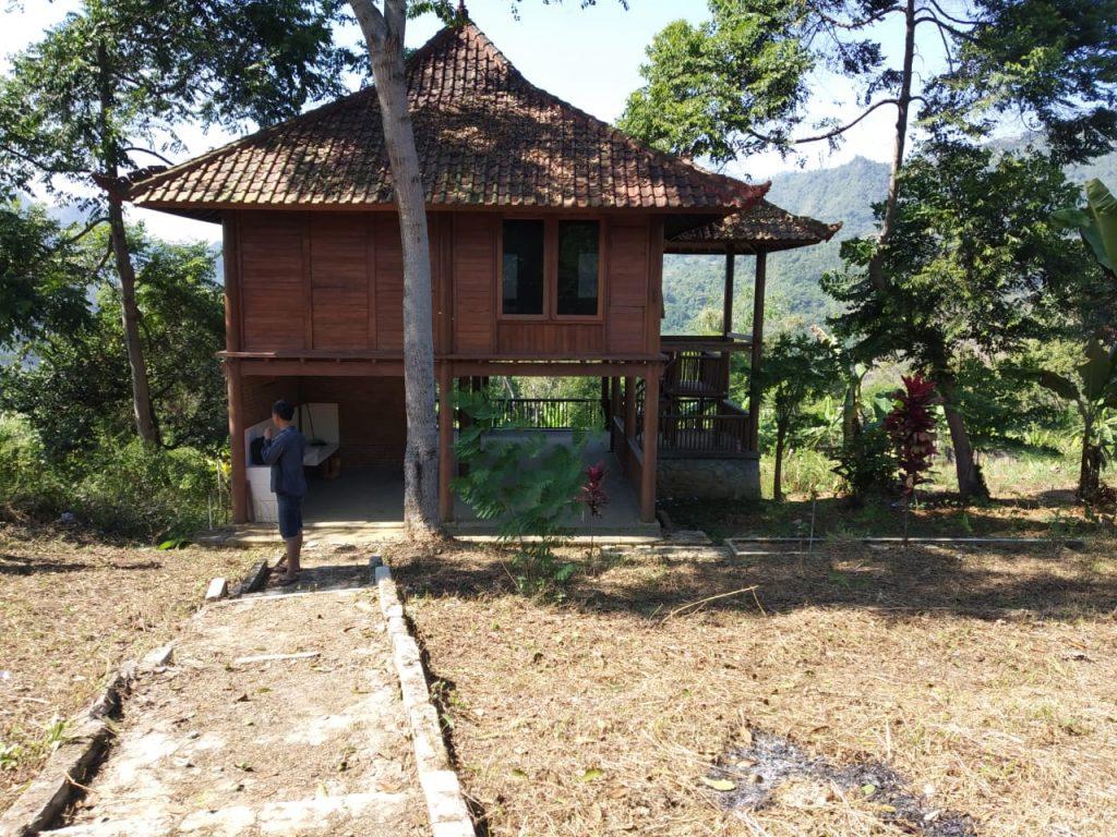 tanah dan villa di jual di puncak 2