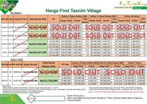 price list first tasnim village