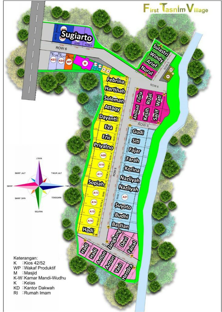 site plan first tasnim village
