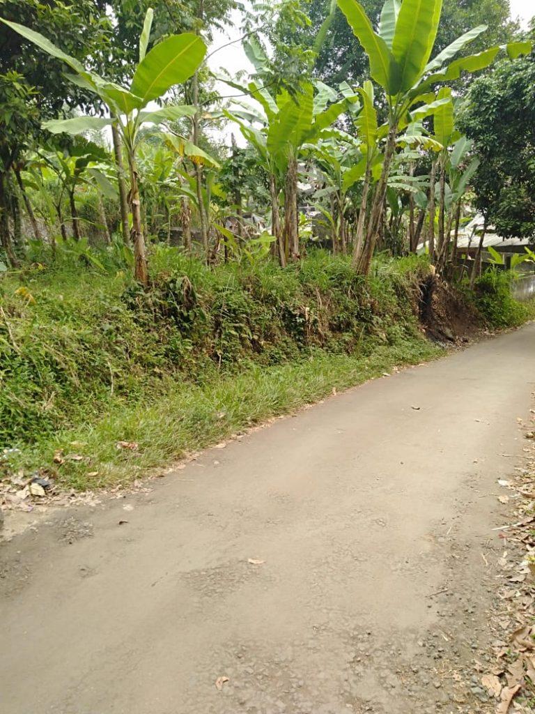 tanah dijual di pinggir jalan raya ciomas bogor