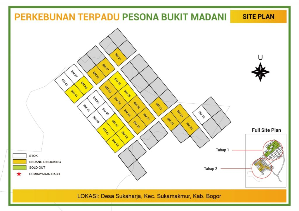 update stok kebun durian pesona bukit madani tanggal 19 januari 2019