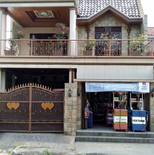 rumah dijual di parung bogor lokasi strategis cocok untuk usaha