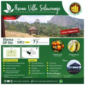 brosur pesona villa selawangi